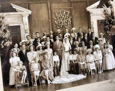 Op het huwelijk van Prins Pavlos en prinses Marie-Chantal wemelde het van de gekroonde hoofden © H.K.H. prinses Marie-Chantal van Griekenland