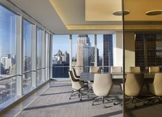 Conference room with views of NYC, Proskauer Rose