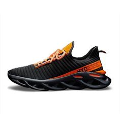 Helios 'Virtuoso Titan' Sneakers - Brute Impact Running Shoes For Men, Running Women, Running Sneakers, Men Sneakers, Runing Shoes, Casual Shoes, Men Casual, Orange Shoes, Sports Shoes