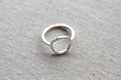 Full Circle Ring// Argentium Sterling by BruteBeauti on Etsy, $40.00