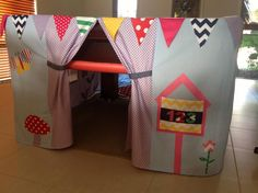 Pool Table Cubby Tent