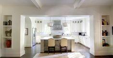 Atlanta Stone Cottage with Contemporary Charm from Castro Design Studio