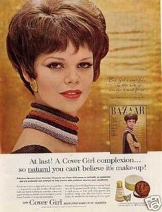 Cover Girl Make-up Ad Marola Witt (1962)