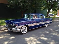 """packardbaker: """"1956 Packard. This is the last year to be built at Detroit factory. More than 60 years later, they still can't figure out what to do with the factory building. """""""