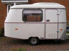 1976 eriba puck 2-berth caravan