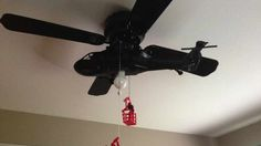 Airplane Ceiling Fan – Latest Accessories for Interior Decorating : Airplane Ceiling Fan With Style Helicopter
