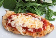 Art Chicken:  Baked Chicken Parmesan dinner-recipes