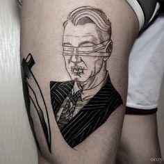Les créations de OOZY, un artiste et tatoueur coréen qui s'amuse à revisiter…