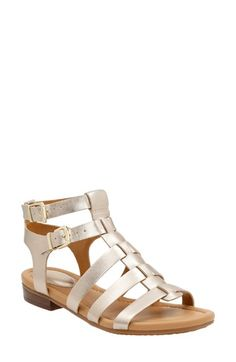 ad999f27f06 Clarks®  Viveca Myth  Sandal available at  Nordstrom Gold Sandals