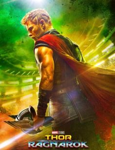 Marvel answered two of the biggest questions about Thor: Ragnarok with this one little trailer. Thor: Ragnarok is the the third film in Marvel's Thor series; a direct sequel to Thor: Dark Wo… Films Marvel, Marvel Cinematic, Thor Marvel, Loki Thor, Loki Laufeyson, Captain Marvel, Thor Ragnarok Film, Dc Movies, Action Movies