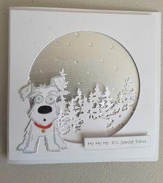Focus on Papercraft: Crazy Dog Christmas card                                                                                                                                                                                 More