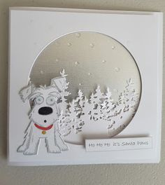Focus on Papercraft: Crazy Dog Christmas card                                                                                                                                                                                 More