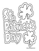 st. patricks day coloring pages, st patrick's day coloring pages, saint patricks day coloring pages, st patrick coloring