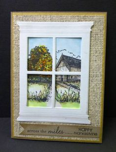 QFTD130 Out the Window by hobbydujour - Cards and Paper Crafts at Splitcoaststampers