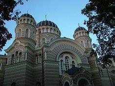 Letonia, Riga, Iglesia Ortodoxa Rusa