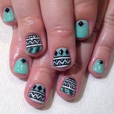 at Vanity Projects #nail #nails #nailart