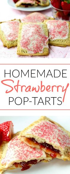 These easy and delicious Strawberry Pop-Tarts are the perfect breakfast, snack or dessert!