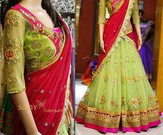 Online shopping for Designer embroidered green wedding lehengaDesigner embroidered green wedding lehenga - Online shopping for Designer embroidered green wedding lehenga Wedding Lehenga Online, Lehenga Online Shopping, Kids Lehenga, Lehenga Choli, Bollywood Outfits, Long Gown Dress, Indian Fashion Trends, Saree Blouse Patterns, Half Saree