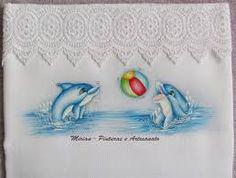 Resultado de imagem para pintura em tecido fraldas filo frigo