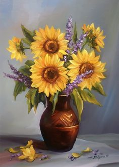 tablouri cu flori anca bulgaru - Поиск в Google