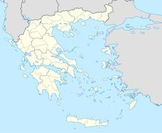 A map of Greece with Mount Athos shown in red Greece Map, Greece Islands, Greece Travel, Crete Island, Travel Europe, Creta, Akrotiri Santorini, Marine Archaeology, Underwater City