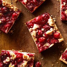 These cranberry-orange bars freeze well. Make a batch on a free afternoon and pop them in the freezer so you'll always have a healthy holiday dessert on hand when company calls. Diabetic Recipes, Cooking Recipes, Diabetic Desserts, Brownie Bar, Cooking Light, Dessert Recipes, Party Desserts, Holiday Desserts, Brownie Recipes