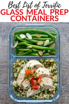 If you want to avoid toxic chemicals in your meals, check out this list of the best glass meal prep containers out there! Super convenient, high quality and they last a long time. Perfect addition to any healthy and clean eating kitchen. Healthy Meal Prep, Healthy Eating, Healthy Recipes, Easy Recipes, Healthy Cooking, Healthy Foods, Cooking Tips, Cooking Recipes, Sunday Meal Prep