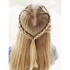 heart braid - Valentines is coming up, going to practice this on my sister, looks hard and like a fun challenge