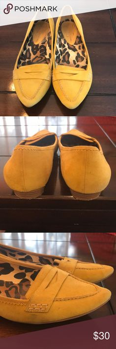 Mustard Yellow Jessica Simpson Isabella Flats Yellow Suede Flats by Jessica Simpson. Good Used Condition. Jessica Simpson Shoes Flats & Loafers