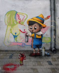 By Dran #Graffiti