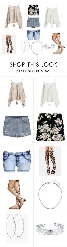 """""""Rhianna Inspired Summer Look"""" by themitchhilsociety on Polyvore featuring Sans Souci, Pilot, Miss Selfridge, Chico's and Belk Silverworks"""