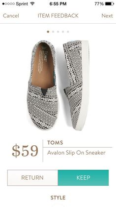 SFS- Toms avalons are my favorite shoes! I have a light gray pair