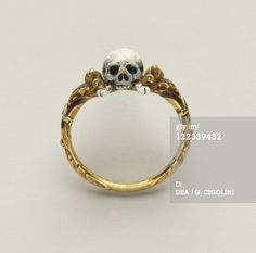 Antique Memento Mori ring