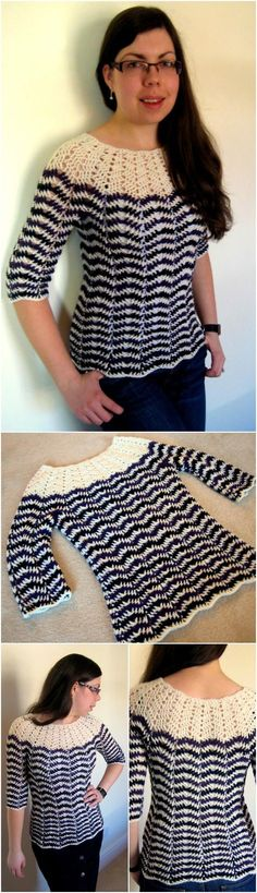 50+ Quick & Easy Crochet Summer Tops - Free Patterns - Page 6 of 9 - DIY & Crafts