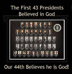 No God for Obama