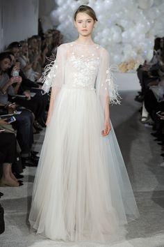 Mira Zwillinger Spring 2018 Bridal Fashion Show, NYFW, New York Fashion Week, TheImpression.com - Fashion news, runway, street style, models