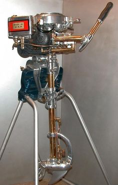 AOM - Johnson 'A' Outboard Motor, I have 2 of these....Mine look horrible! This one is nice though