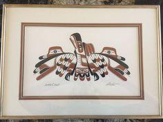 ART THOMPSON Signed Original Serigraph Pacific Northwest Coast First Nations Art