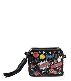 ba6460a57a ShopBazaar Anya Hindmarch All Over Stickers Crossbody Bag MAIN Novelty Bags