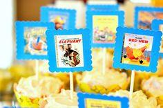 Free golden books baby shower printables
