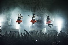 BABYMETAL at The Forum, London 2014-07-07 by Dana Distortion