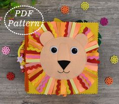 Quiet Book ZOO Animals PDF Pattern, Soft Book for toddlers Felt Pattern, Sewing pattern, Busy book Dinosaur Party Favors, Dinosaur Gifts, Quiet Book Templates, Quiet Book Patterns, Zoo Animals, Felt Animals, Baby Quiet Book, Quiet Books, Beginner Felting