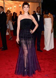 Marion Cotillard in Christian Dior, Met Gala 2012