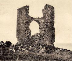 Kildonan Castle circa 1900 with upper vault partly intact