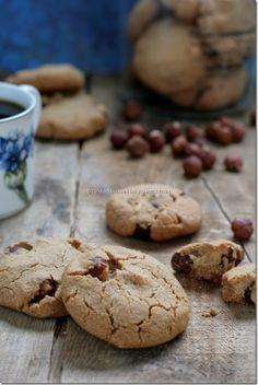 Peanut crinkle cookies.