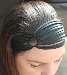 Hey, I found this really awesome Etsy listing at https://www.etsy.com/listing/112640198/black-headband-wide-headband-flapper