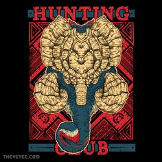 Hunting Club: Gammoth By Adam, today at The Yetee!