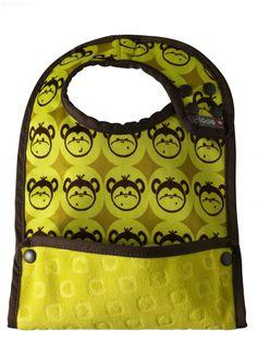 Reversible Bib (Stage 2) - Yellow Monkey [$8.17]
