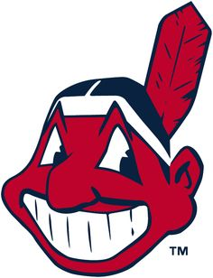 Cleveland Indians Primary Logo (1979) - Chief Wahoo facing the left in red and navy blue. Colours are adjusted slightly for the 1986 season