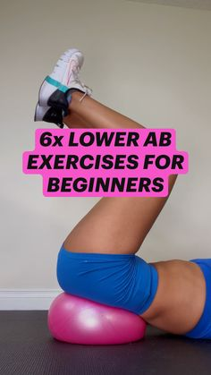 Muffin Top Exercises, Lower Back Exercises, Lower Ab Workouts, Lower Abs, 30 Day Fitness, Fitness Workout For Women, Mom Workout, Endomorph Diet, Killer Legs